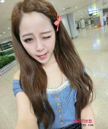非主流女人蓬松发型 流行非主流女人韩版发型图片