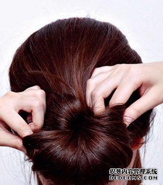 古典发型是怎么盘的 古典盘发发型图片图片
