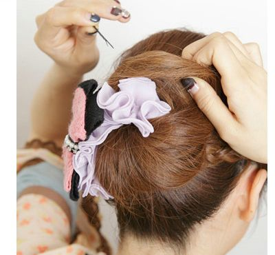 学生短直发怎么简单的扎起来 短直怎么扎简单好看图片