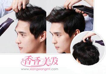 男生头发短怎么做造型 在线教你做男生短发发型图片