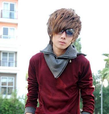 男生纹理烫c型刘海怎么打理 男生刘海纹理烫发型图片