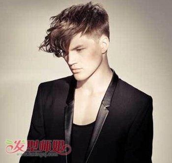 男生瓜子脸适合什么样的发型 头发有点卷的男生时尚发型设计